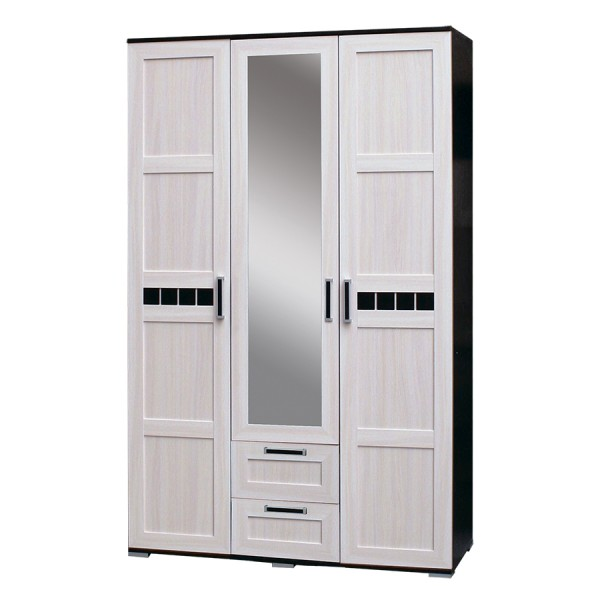 Шкаф Ария-1 3х дверный ящик дуб окончательный