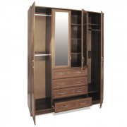 Шкаф-комод 4х дверный орех