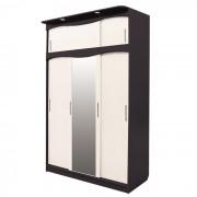 шкаф 3 дв с антр со светильн Светлана 1  (венге_мол дуб)