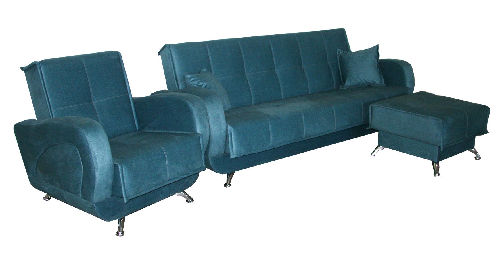 Набор диван и кресло
